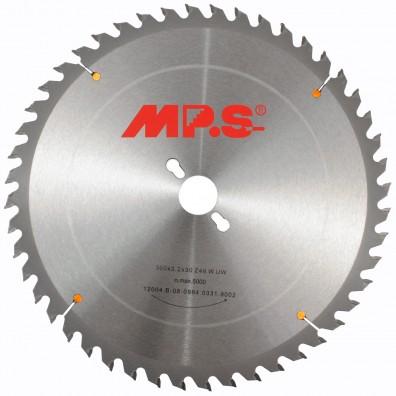 1 MPS HM bestücktes Tischkreissägeblatt, VW- Wechselzahn, 96 Zähne, 300x3,2x30mm