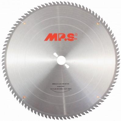 1 MPS HM bestücktes Tischkreissägeblatt, KW- Wechselzahn, 96 Zähne, 400x3,2x30mm