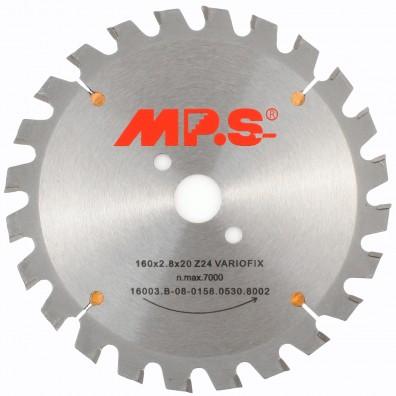 MPS Handkreissägeblatt - Hartmetall bestückt - Flachzahn mit Fase