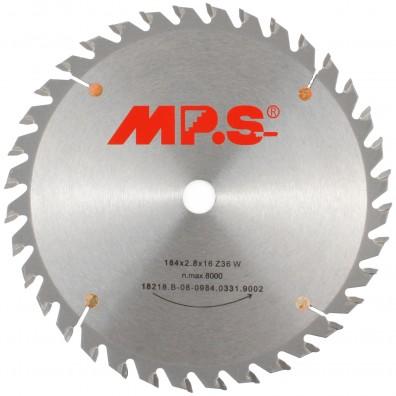 MPS Handkreissägeblatt - Hartmetall bestückt - Feinzahn