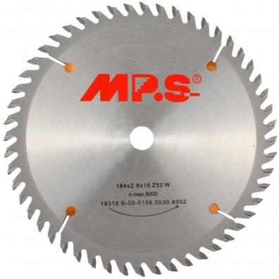 MPS Handkreissägeblatt - Hartmetall bestückt - Feinstzahn