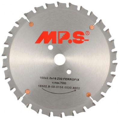 MPS HM bestücktes Handkreissägeblatt FerroFix