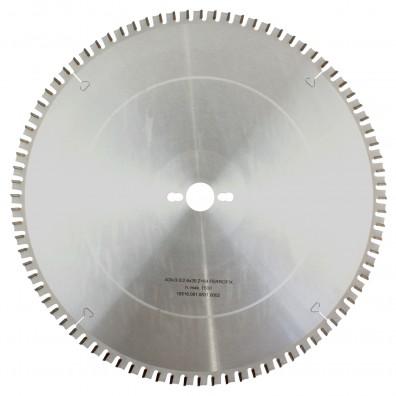 1 MPS HM bestücktes Handkreissägeblatt FerroFix, 84 Zähne, 400x3,0x30mm