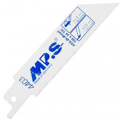 MPS Säbelsägeblätter für dünnes Metall