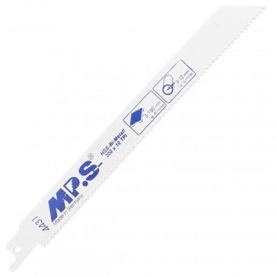 5 MPS Säbelsägeblätter für Metall und Holz mit Nägeln, Paletten 2,5/200mm