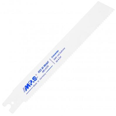 5 MPS Säbelsägeblätter mit Rems- Aufnahme, gerader Schnitt in Stahl 3,2/200 mm