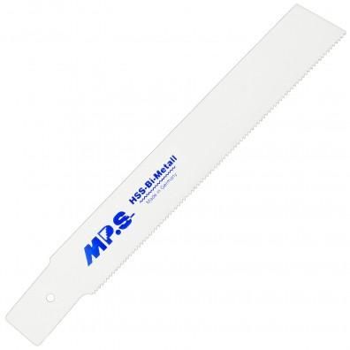 5 MPS Säbelsägeblätter mit Flex-Aufnahme,gerader Schnitt in Buntmetall 1,8/200mm