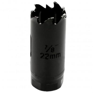 1 MPS Lochsäge - 22 mm Ø - Hartmetall - für Gipskarton & Holz geeignet
