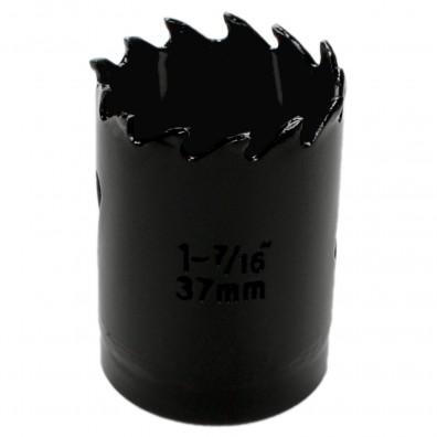 1 MPS Lochsäge - 37 mm Ø - Hartmetall - für Gipskarton & Holz geeignet
