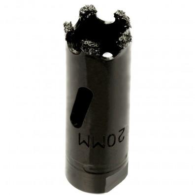 MPS Lochsäge - Hartmetall berieselt - für abrasive Materialien