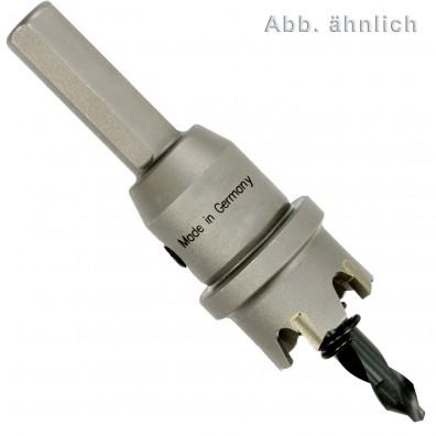 1 MPS Hartmetall- bestückte Lochsäge -Flachschnitt- 23 mm