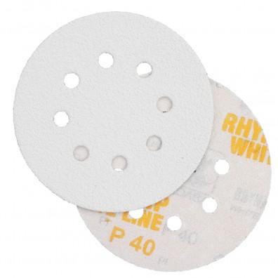 50 Schleifscheiben - Klettscheiben P40, Ø125 mm, 8-Loch