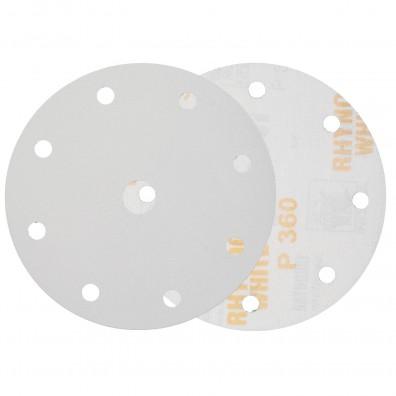 10 Schleifscheiben / Klettscheiben P360, Ø150 mm, 9-Loch