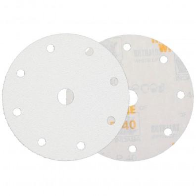 50 Schleifscheiben / Klettscheiben P40, Ø150 mm, 9-Loch
