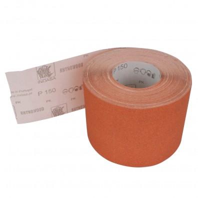 1 Rolle Schleifpapier P150, 115mm, 7,10m, rot