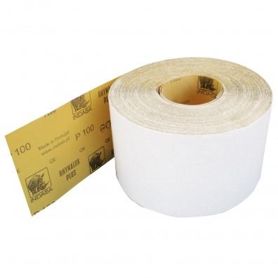 1 Rolle Schleifpapier Industrieware-weiß P100, 115mm, 16,6m