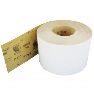 1 Rolle Schleifpapier Industrieware-weiß P120, 115mm, 50m