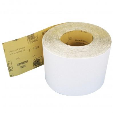 1 Rolle Schleifpapier Industrieware-weiß P180, 115mm, 16,6m