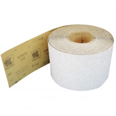 1 Rolle Schleifpapier Industrieware-weiß P40, 115mm, 50m