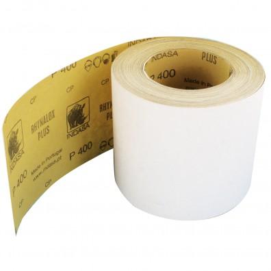 1 Rolle Schleifpapier Industrieware-weiß P400, 115mm, 50m