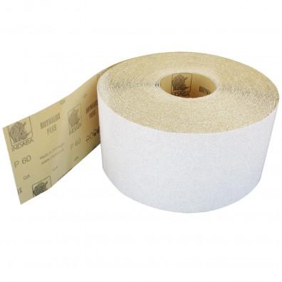 1 Rolle Schleifpapier Industrieware-weiß P60, 115mm, 3m