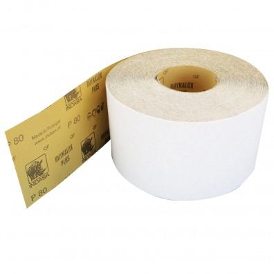 1 Rolle Schleifpapier Industrieware-weiß P80, 115mm, 50m