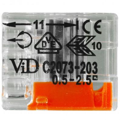 VDE Mini-Stecker, Federzugklemmen