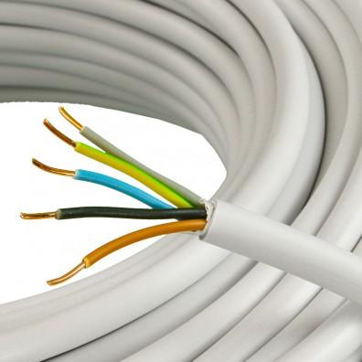 50 m NYM J Elektroleitung, Mantelleitung, Kabel, 5x1,5 mm