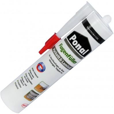 1 Kartusche Henkel Ponal Fugenfüller - Räuchereiche - 280ml