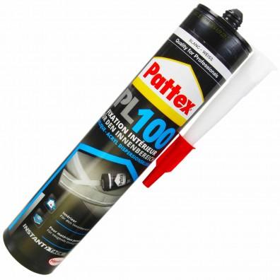 1 Kartusche Henkel Pattex PL100 Montage Dispersion - 300 ml