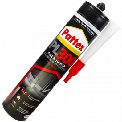 1 Kartusche Henkel Pattex PL300 Total Fix Flextec Polymer - transparent - 300ml