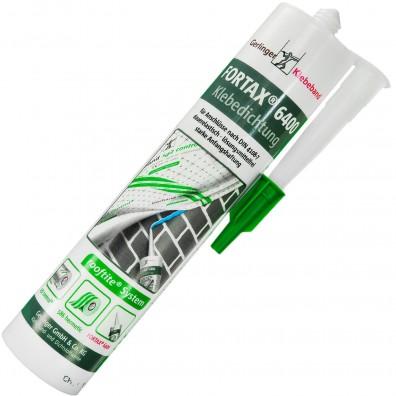 1 Kartusche Fortax 6400 , Klebedichtung / Dampfsperrkleber / Luftdichtkleber, 310 ml