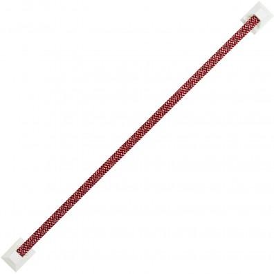 1 HSI Krawattenhalter selbstklebend - Kunststoff - rot - 440mm
