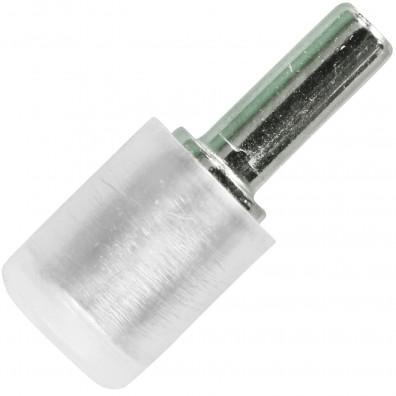 Bodenträger (Duplo) - beidseitiger Zapfen - Kunststoffhülse