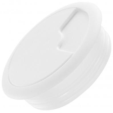 1 HSI Kabeldurchlass - Kunststoff - weiß - 60mm