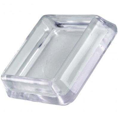 HSI Möbeluntersetzer quadratisch - Kunststoff