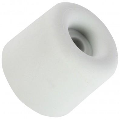 4 HSI Türstopper - festinstalliert - Gummi - grau - 25x30mm