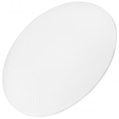 1 HSI Türstopper - Bumms - Kunststoff - weiß - 18x60mm