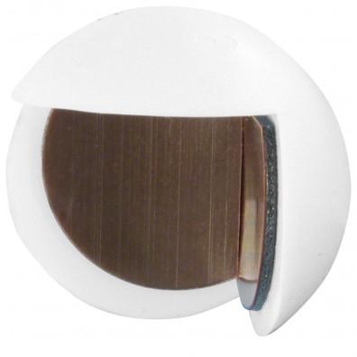 1 HSI Türstopper - Eckenbumms - Kunststoff - weiß - 25mm