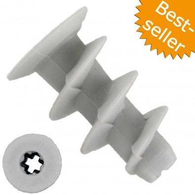 Gipskartondübel - Kunststoff - ohne Setzwerkzeug