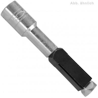 25 FISCHER Porenbetonanker FPX-I - mit M6 Innengewinde - Stahl - verzinkt - ETA