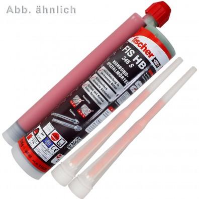 6 FISCHER Injektionsmörtel FIS HB 150 C - inkl. 2 Statikmischer-Kartusche - ETA