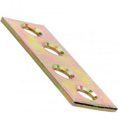 Flachverbinder gelb verzinkt