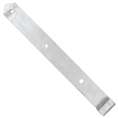 Ladenband schwer - gerade Form - abgerundet - feuerverzinkt - 16mm Rolle