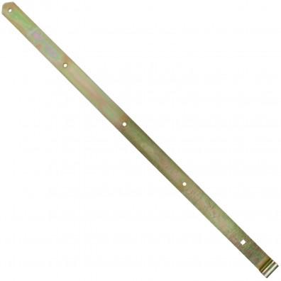1 GAH Ladenband 1000x45mm 16mm Rolle schwer gerade Form abgerundet gelb verzinkt