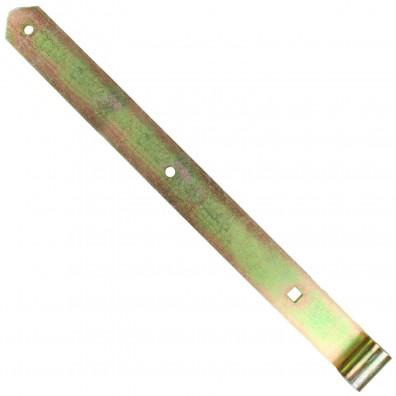 1 GAH Ladenband 500x45mm 16mm Rolle schwer gerade Form abgerundet gelb verzinkt