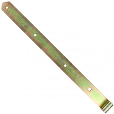 1 GAH Ladenband 600x45mm 16mm Rolle schwer gerade Form abgerundet gelb verzinkt