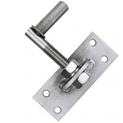 1 GAH Kloben verstellbar um 20 mm Edelstahl Dorn 13 mm 100x40 mm