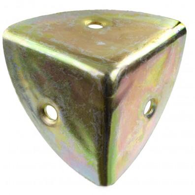 1 GAH Kistenecke 35 mm - gelb verzinkt