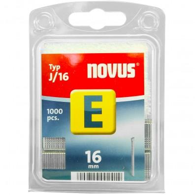 1000 Novus Feindrahtnägel, Tackernägel , 1,2x16 mm , Typ E / J